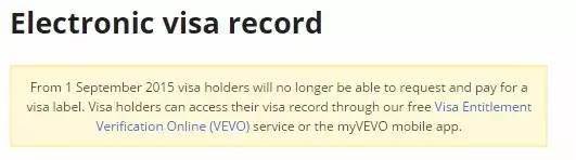 9月1日起澳大利亚统一使用电子签证