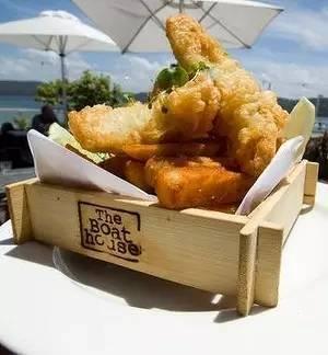 炸鱼和考薯条