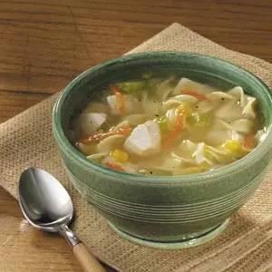 鸡肉玉米浓汤
