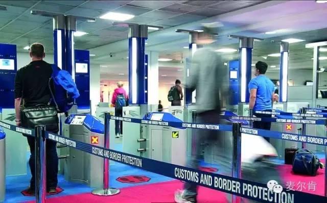 澳大利亚入境申报清单