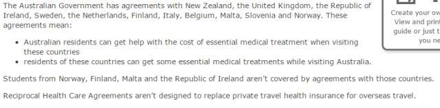 医疗保障体系互惠协议RHCA