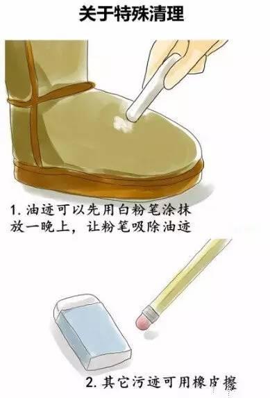如何清晰UGG雪地靴方法5