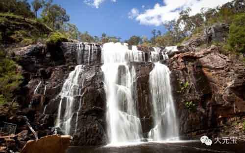 维多利亚州最大的瀑布