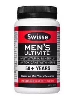 Swisse 50+ 65+ 复合维生素man