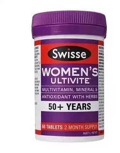 Swisse 50+ 65+ 复合维生素