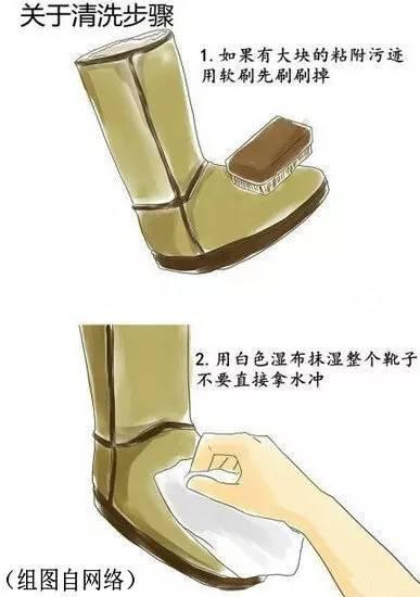 如何清晰UGG雪地靴方法1