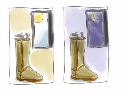 如何清晰UGG雪地靴方法4